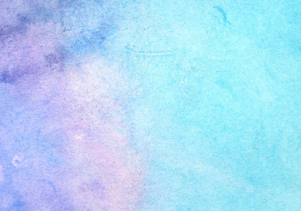 empty blue watercolor paper